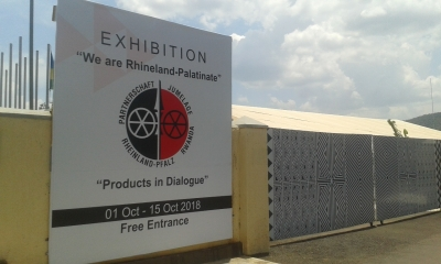 Exhibition on Design: Product in Dialogue/Rwanda-Rhineland-Palatinate